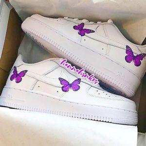 nike air force 1 custom sneakers